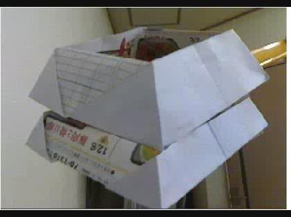 ハート 折り紙 : チラシ 折り紙 ゴミ箱 : okwave.jp