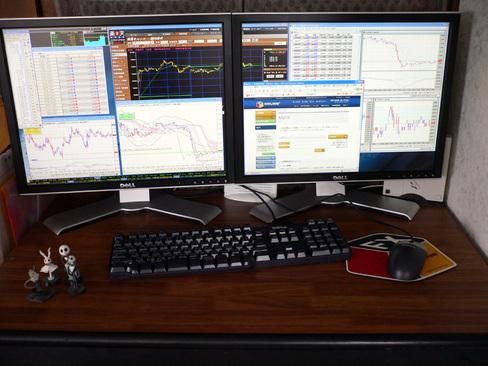 左右のモニターを一つのモニターのように表示設定する方法はOS、ビデオドライバーによって多少異なります。 下記URLを参考に  http//www.junban.com/display.html
