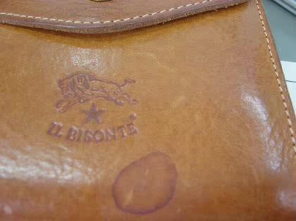 革の財布についたシミの落とし ...