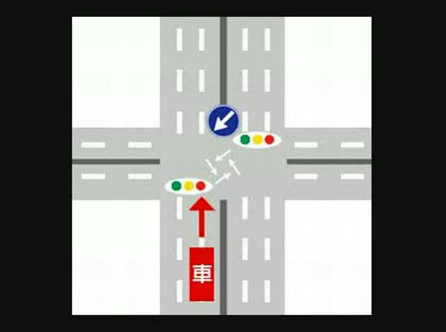 禁止 ターン 右折 u 車両横断禁止と右折禁止の違い|仮免・本免・学科試験の豆知識