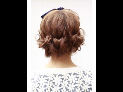 結婚式のヘアアレンジ ...