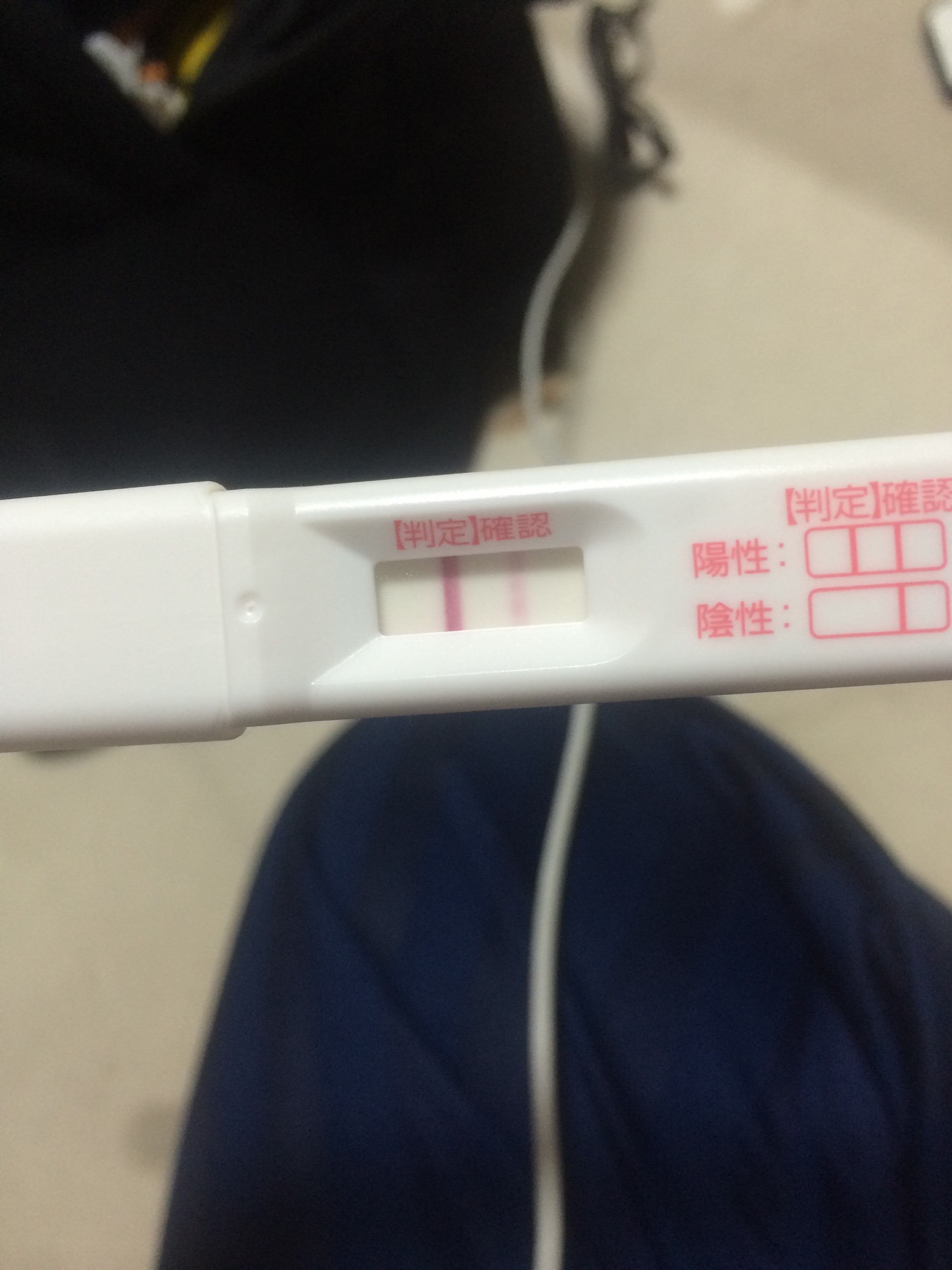 薬 濃い 検査 陽性 妊娠