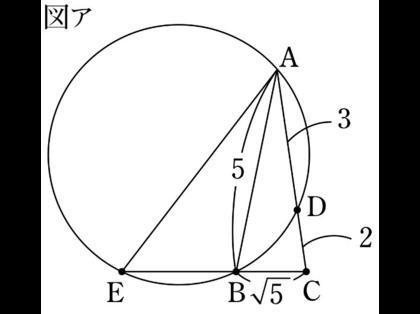 数学 三角形に外接する円の書き方について