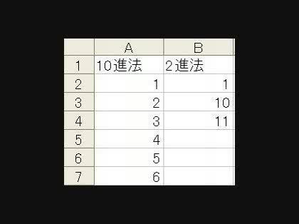 10進法を2進法に変換する関数を教えてください。