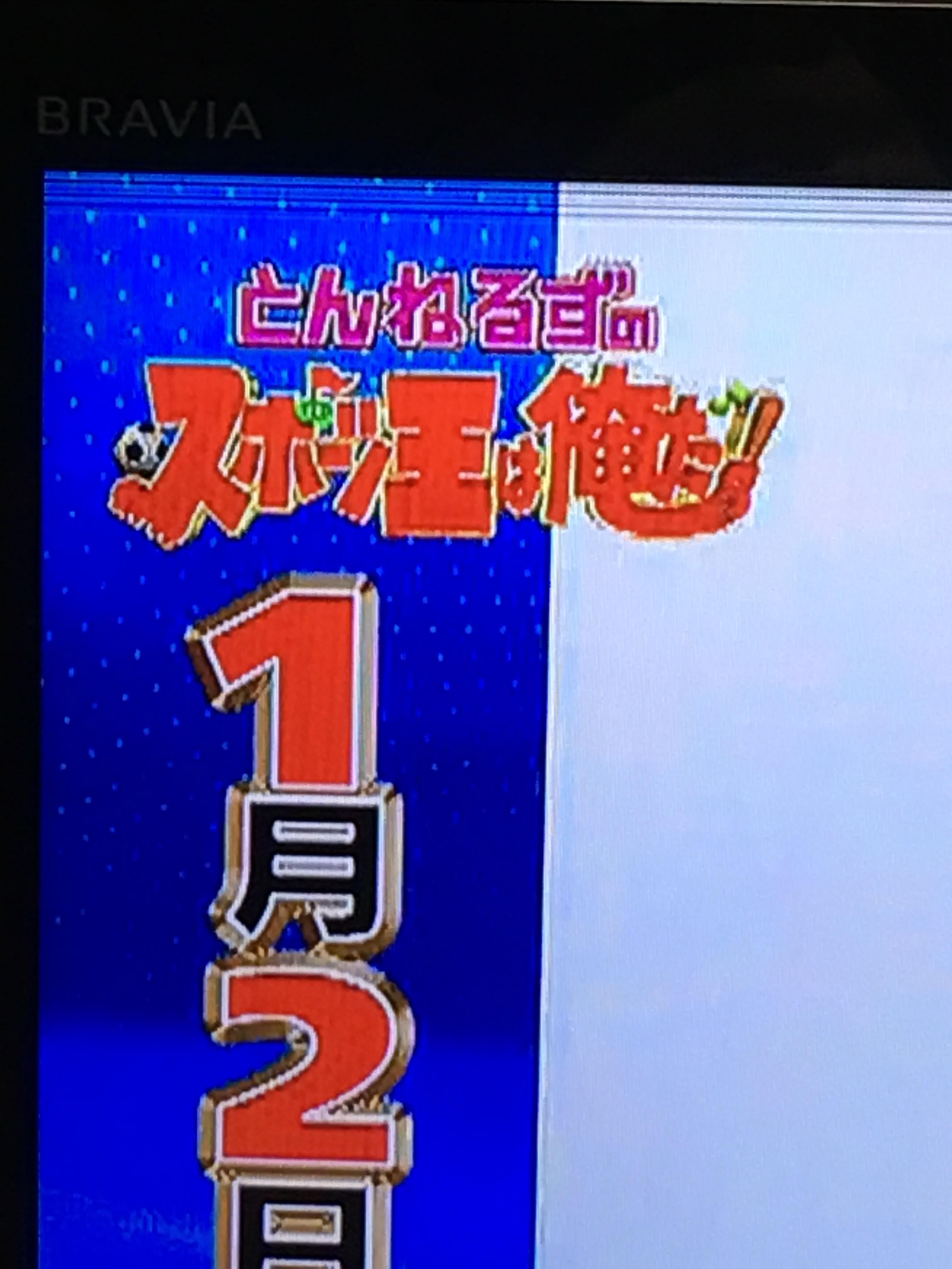 横線 テレビ