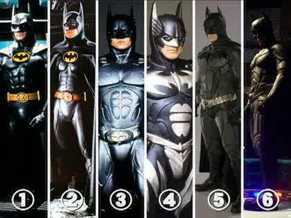 好きなバットマンスーツはどれですか?