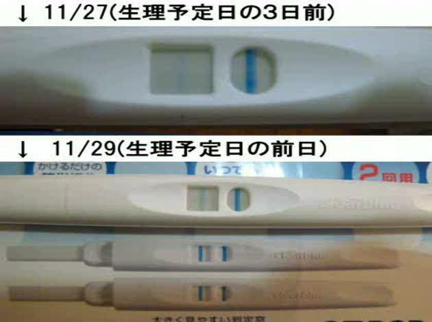 生理予定日 妊娠検査薬
